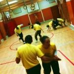 Capoeira Angola - Träning i Engelbrektsskolan